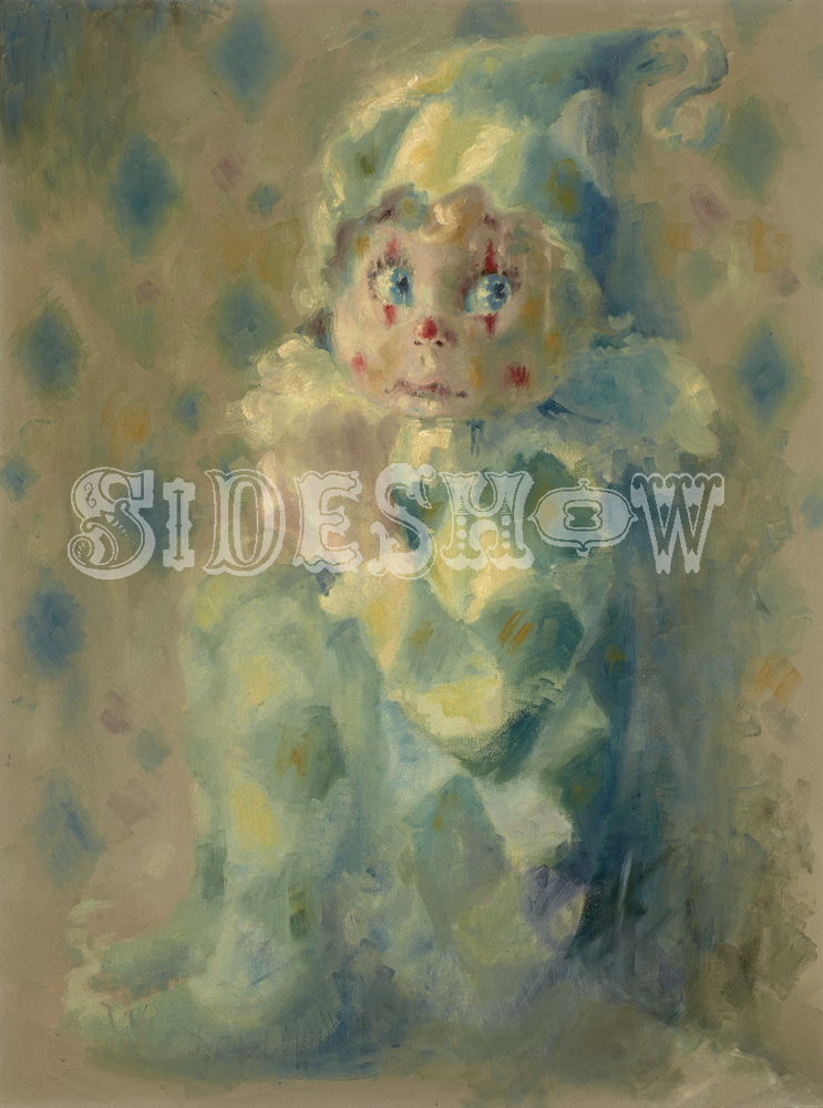vintage clown child