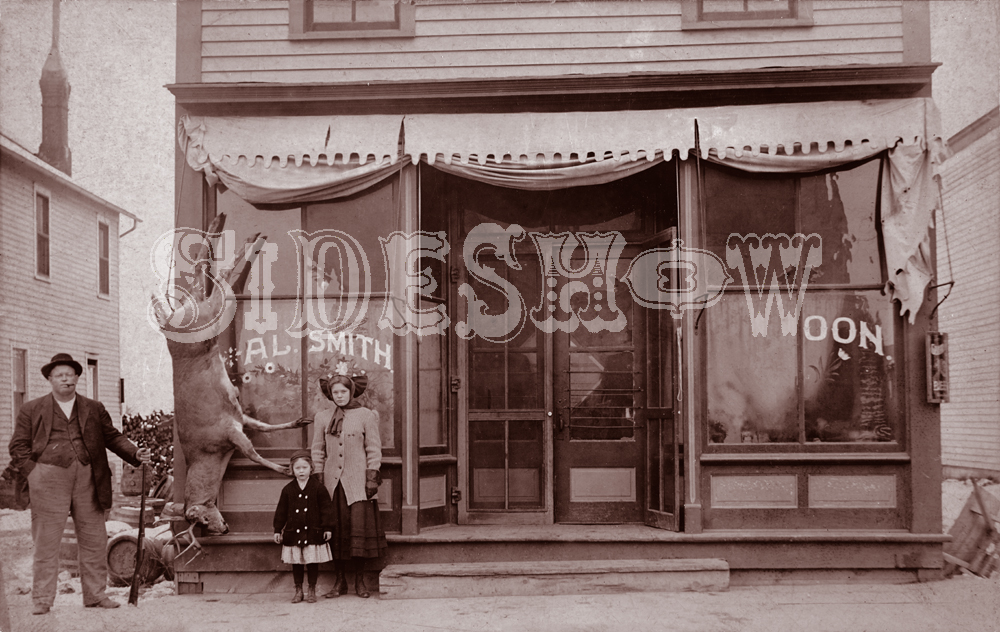 Al Smith saloon vintage photo
