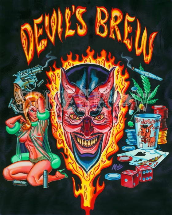 Devil's Brew Mitch O'Connell Sideshow