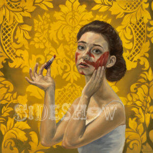 Dorriele Caimi - she got a hold of my lipstick, 11/22/10, 11:34 AM, 16C, 9928x12401 (70+681), 125%, redd's curve,  1/60 s, R81.9, G59.0, B78.8