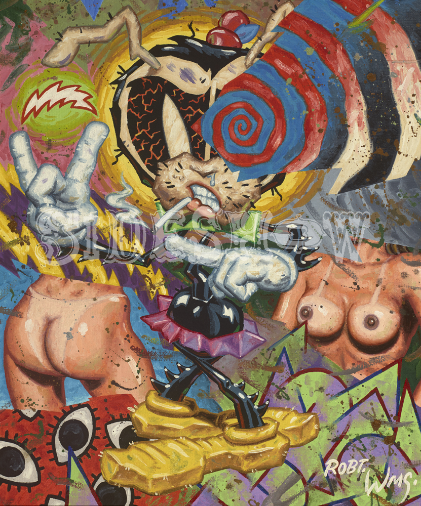 Robert Williams Abstract Coochy Cooty