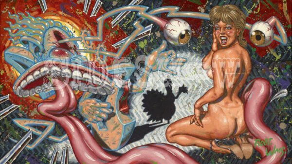 Robert Williams_The Wolf Who Gobbled_A