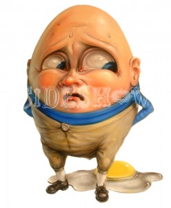 Stephen Gibb_Humpty says - Oh, crap! - in his outside voice_B