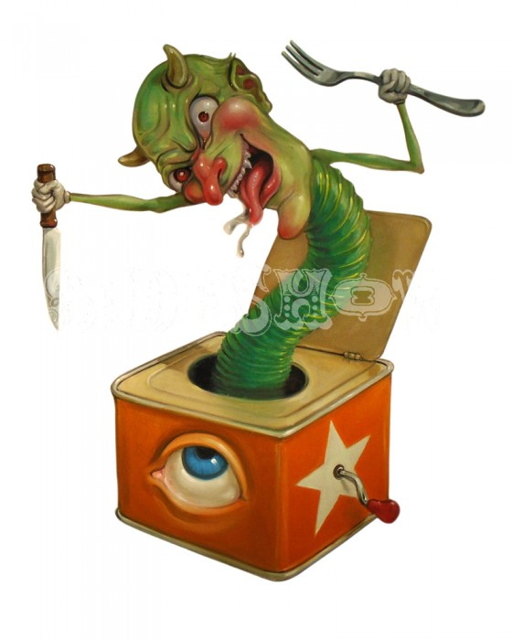 Stephen Gibb_Krampus in the box_AB
