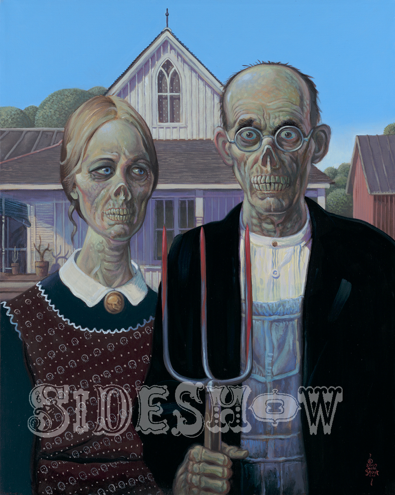 William Stout American Gothic Zombie