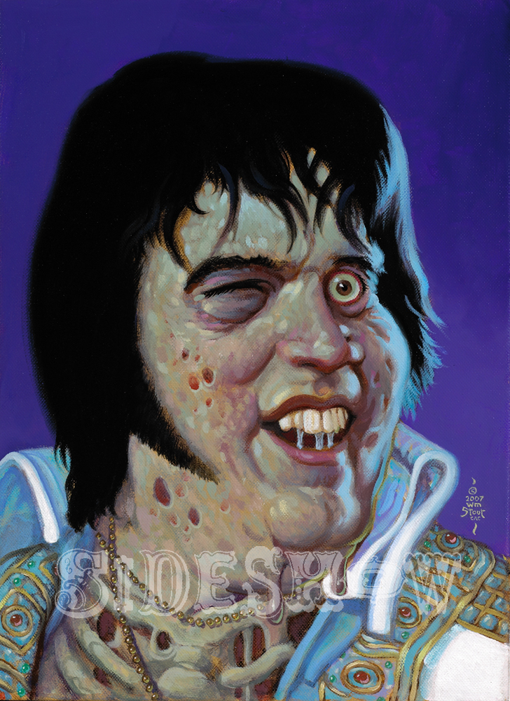 William Stout Elvis