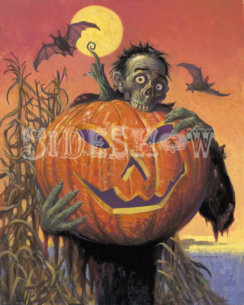 William Stout Halloween Zombie