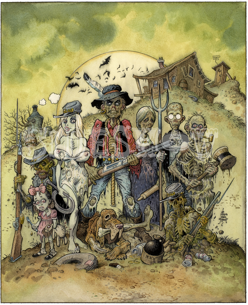 William Stout Hellbillys