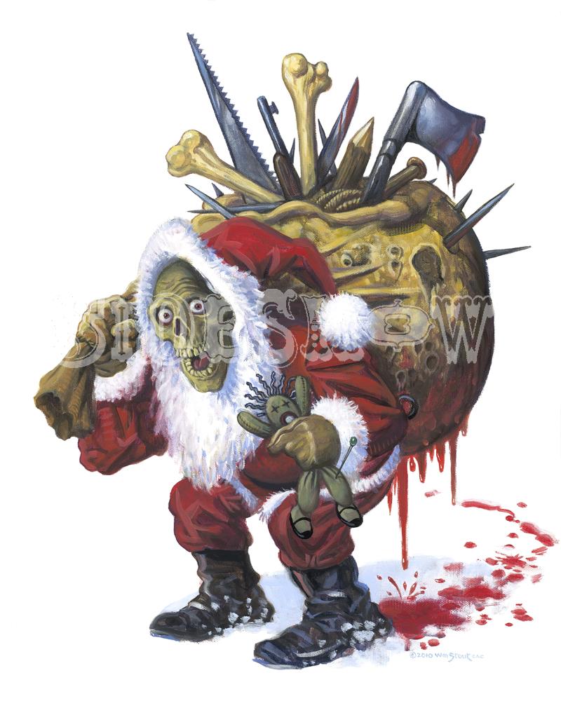 William Stout Santa Zombie