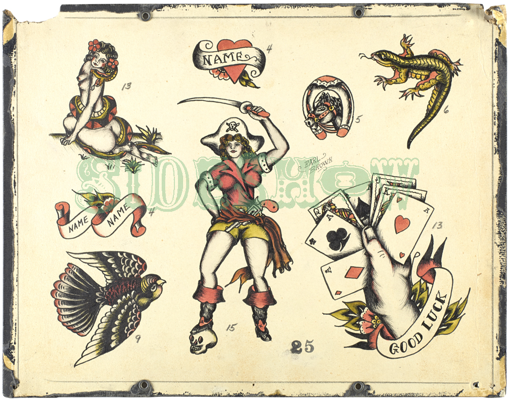 lucky vintage tattoos