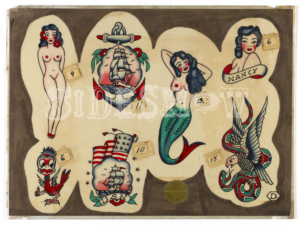 vintage navy sailor tattoos