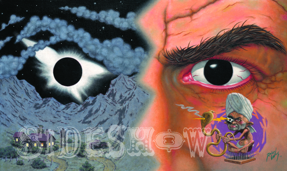Robert Williams Ocularmorphic Eclipse