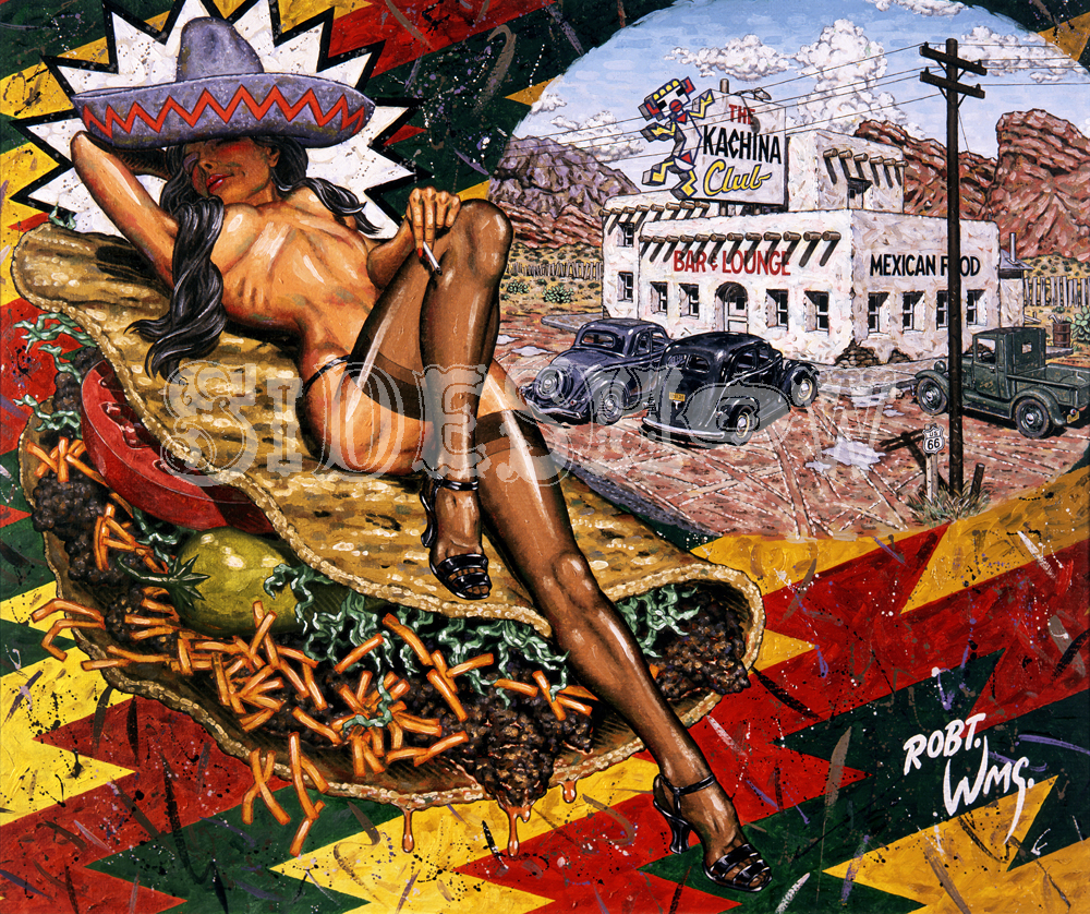 Robert Williams Carne De Amore