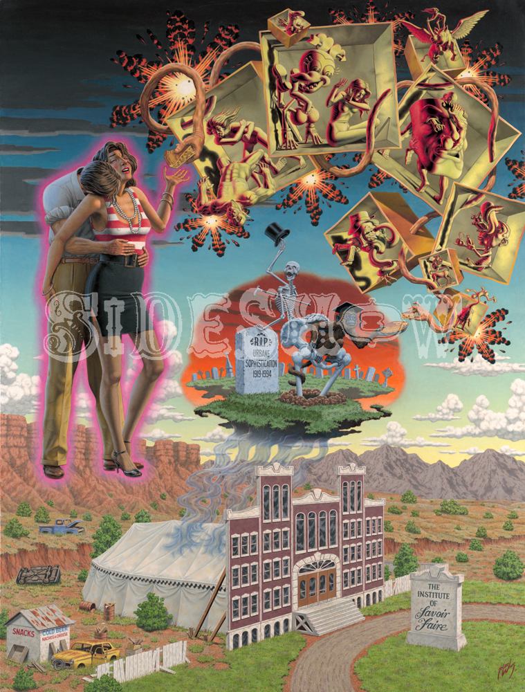 Robert Williams Decline of Sophistication