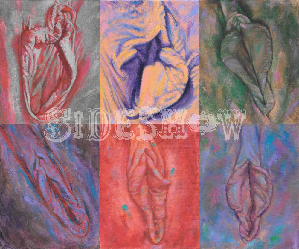 Brian Zick Vulva Portraits