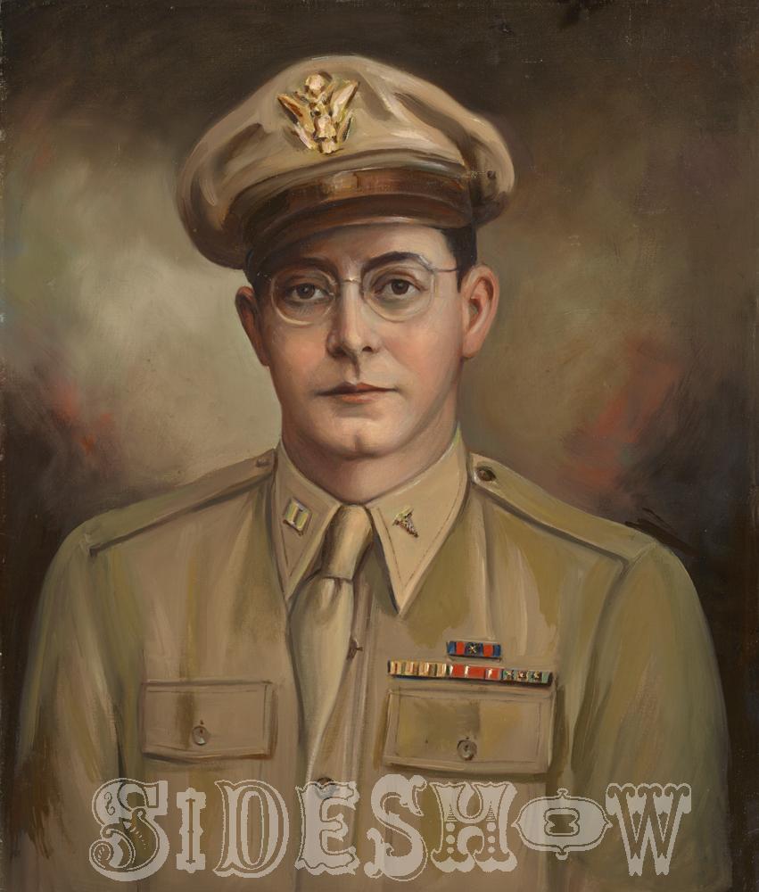 military man glasses
