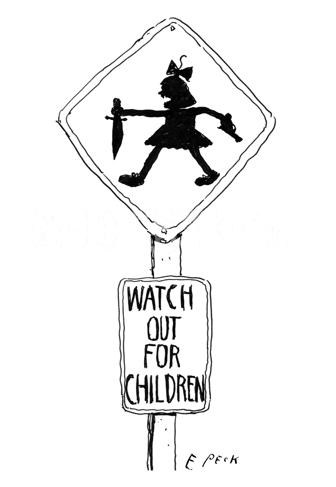 Everett Peck Watch Out For Children