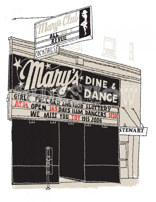 MARYS CLUB