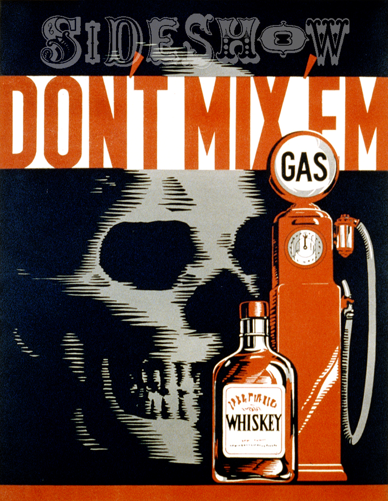 whiskey and gasoline