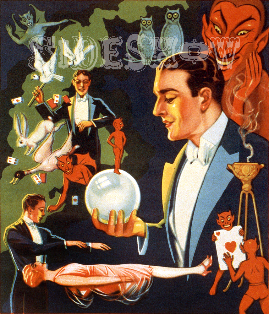 thurston magician and creatures