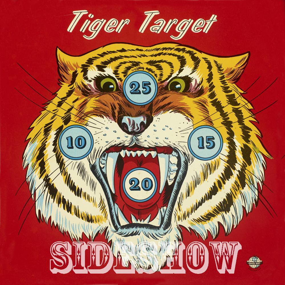 tiget target vintage dart board game